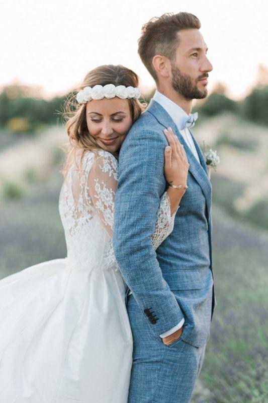 Ocean Blue Linen Summer Beach Groom Wedding Suits | Custom Made Casual Man Blazer Tuxedo