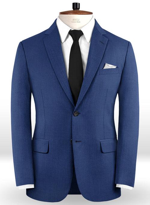 Blue Prom Suits   Fashion Two Pieces Men Suits
