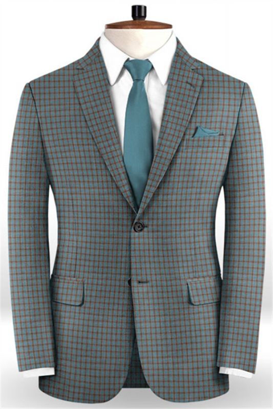 Colorful Men Suits for Prom | Two Pieces Tuxedo