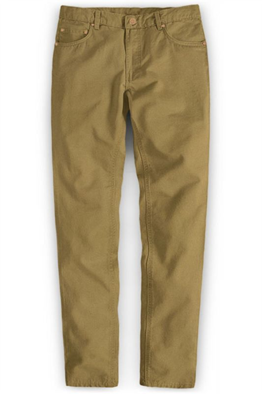 Ginger Brand Solid Color Business Joggers Pants