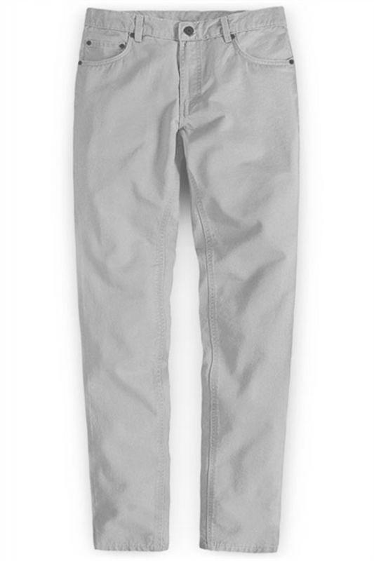 Fashion Trousers Casual Business Slim Fit Men Suit Pants