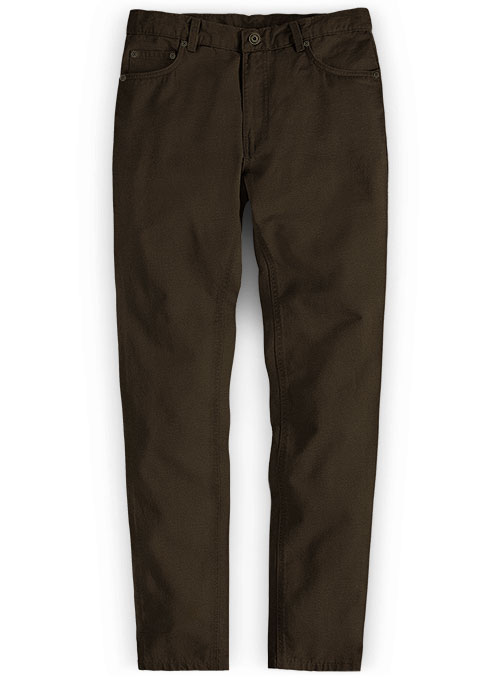 Formal Autumn Cotton Straight Solid Long Men Pants