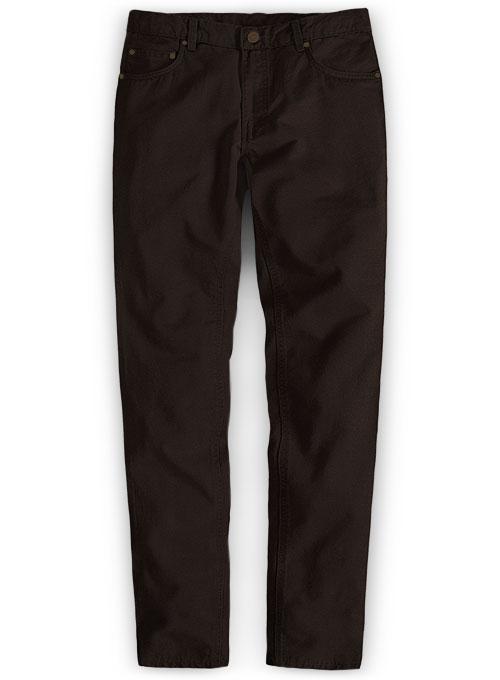 Dark Brown Slim Fit Thin Casual Business Men Formal Suit Pants