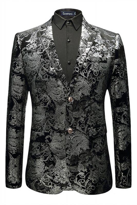 Jackson Black Jacquard Slim Fit Mens Blazer Jacket In Stock