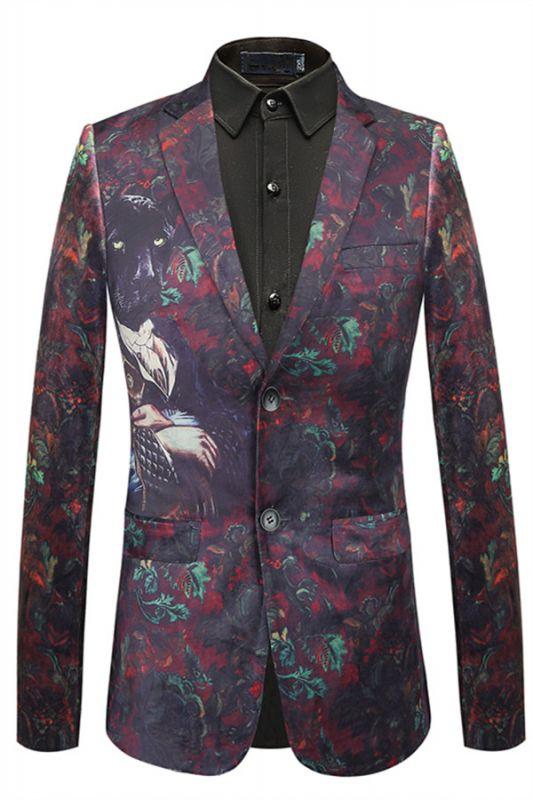 Bespoke Digital Printed Fashion Animal Pattern Blazer Jacket