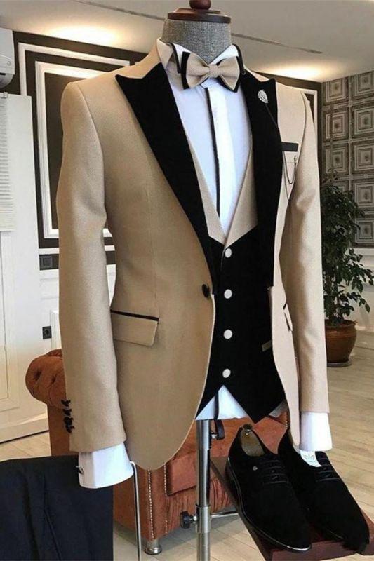 Malachi New Arrival One Button Slim Fit Men Suits