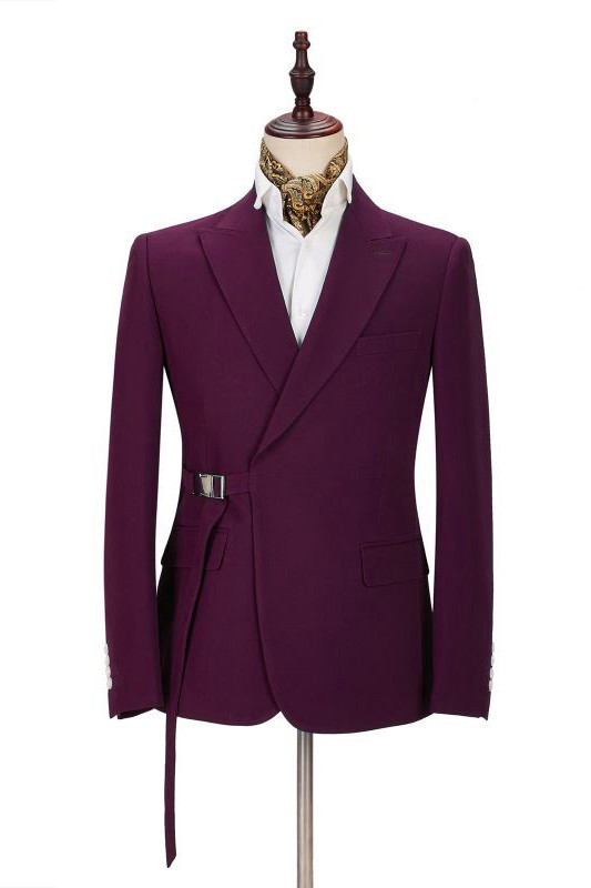 Zane Fashion Peaked Lapel Two-Pieces Cheap Men Suits Online