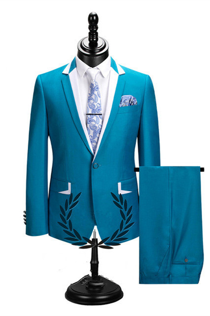 Hector New Arrival Notched Lapel Best Fitted Cheap Men Suits for Prom