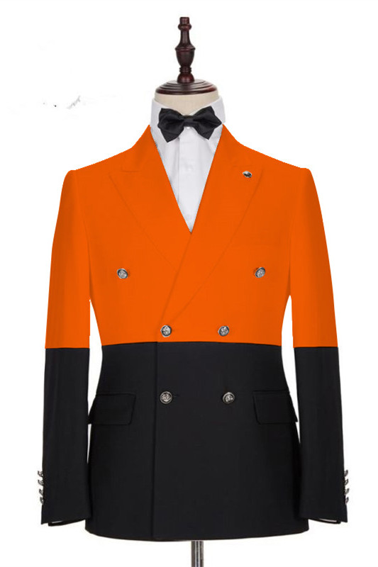 Braylon Fashion New Arrival Slim Fit Peaked Lapel Prom Outfits for Boys