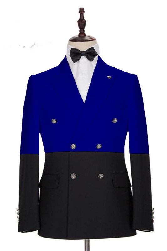Ruben Royal Blue Double Breasted Fashion Men Suits