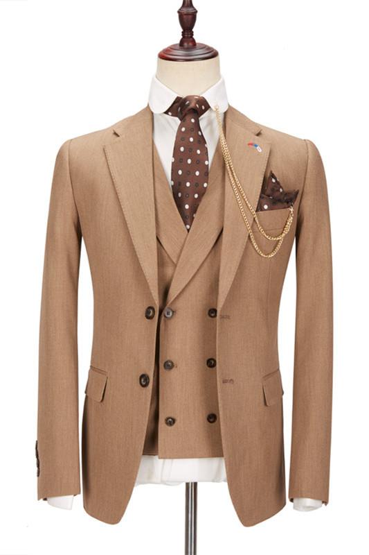 Kellen Stylish New Arrival Notched Lapel Slim Fit Men Suits