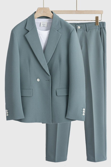 Walter Stylish Notched Lapel Loose Summer Men Suits for Prom