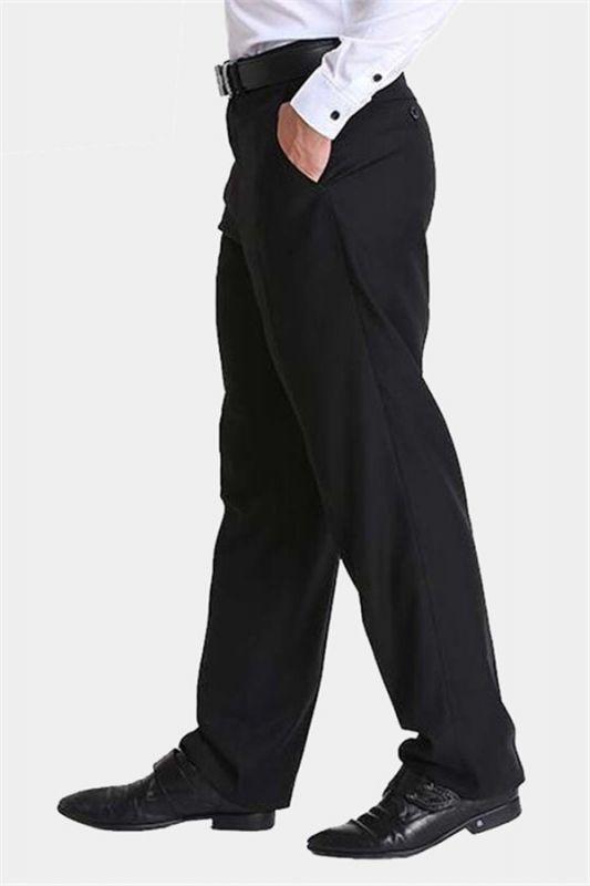 Formal Black Dress Mens Pants