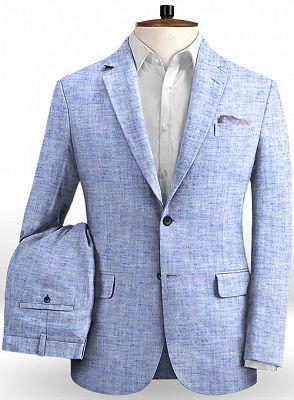Blue Summer Groom Men Suits Online | Prom Tuxedo for Men_2