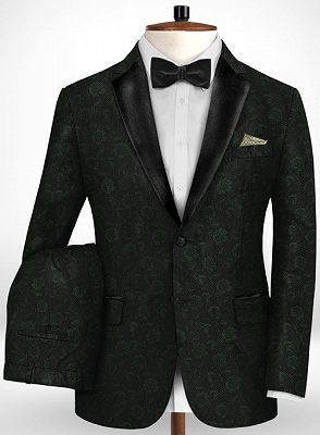 Latest Black Suits for Wedding Tuxedos | Groom Wear Notch Lapel Groomsmen Outfit Man Blazers_2