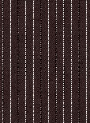 Chocolate Two Pieces Men Suits with 2 Buttons | Striped Tuxedo_4