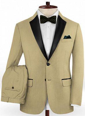 Two Pieces Prom Men Suits | Best Fit Tuxedo_2