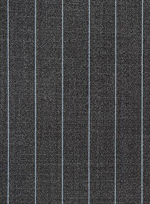 New Smoking Gray Men Suits For Business | Modern Striped Notch Lapel Tuxedo Online_4