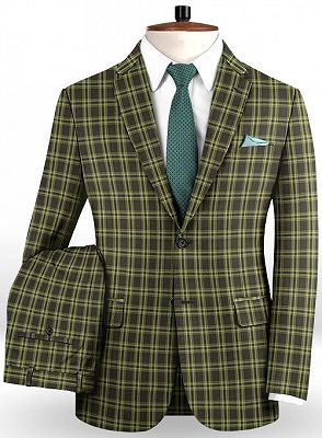 Classic Colorful Men Suits with 2 Pieces | Slim Fit Prom Suits Online_2