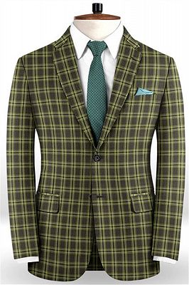 Classic Colorful Men Suits with 2 Pieces | Slim Fit Prom Suits Online_1