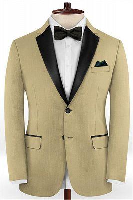 Two Pieces Prom Men Suits | Best Fit Tuxedo_1
