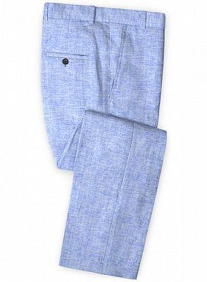 Blue Summer Groom Men Suits Online | Prom Tuxedo for Men_3