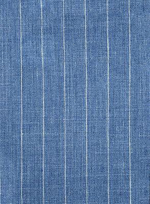 Ocean Blue Striped Prom Tuxedo | Two Pieces Linen Men Suits_4