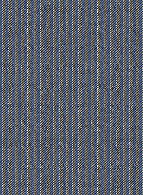 Blue Notched Lapel Men Suits for Sale | Modern Slim Fit Striped Tuxedo_4