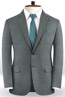 Colorful Men Suits for Prom | Two Pieces Tuxedo_1
