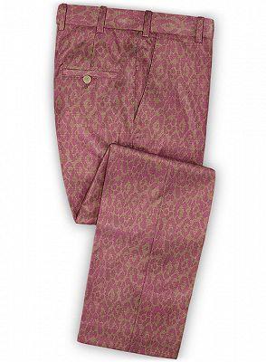 Pink Handsome Mens Youth Suits | Tuxedo Men Blazer_3