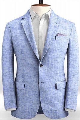 Blue Summer Groom Men Suits Online | Prom Tuxedo for Men_1