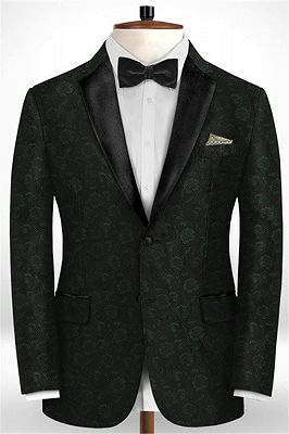 Latest Black Suits for Wedding Tuxedos | Groom Wear Notch Lapel Groomsmen Outfit Man Blazers_1