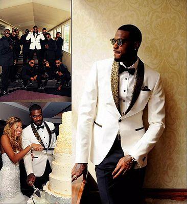 Tailored Wedding Suits Bridegroom Mens Suits | 2020 Formal Jacquard Best Men Tuxedos_4