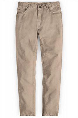 Classic Casual Pants Men Business Long Pants_1