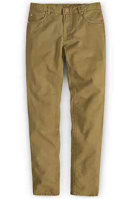Ginger Brand Solid Color Business Joggers Pants_1