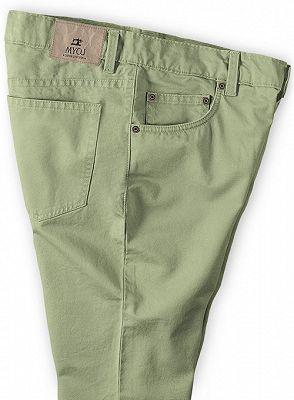 New Men Casual Pants Cotton Business Leisure Pants_3