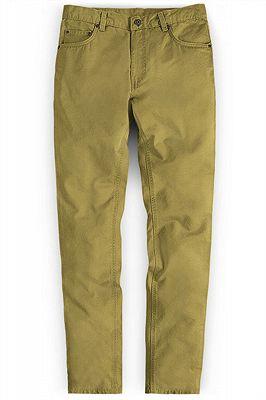 Vintage Formal Business Zipper Fly Pants for Men_1
