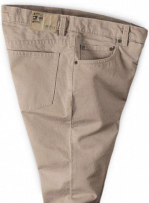 Classic Casual Pants Men Business Long Pants_3