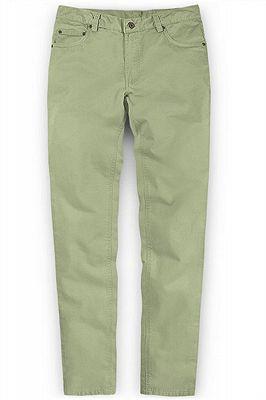 New Men Casual Pants Cotton Business Leisure Pants_1