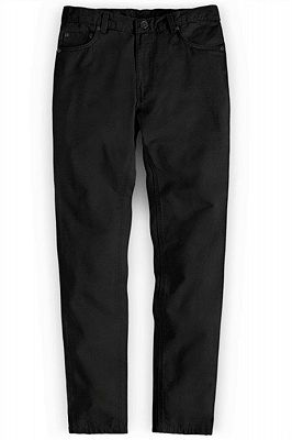 Mens Stylist Track Casual Style Mens Black Pants_1