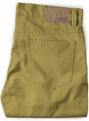 Vintage Formal Business Zipper Fly Pants for Men_2