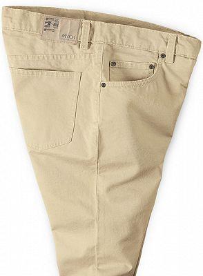 High Quality Fashion Slim Fit Clothes Men Solid Color Pants_3