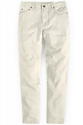 Offwhite Casual Pants Thin High Waist Stretch Mens Slacks_1