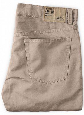 Classic Casual Pants Men Business Long Pants_2