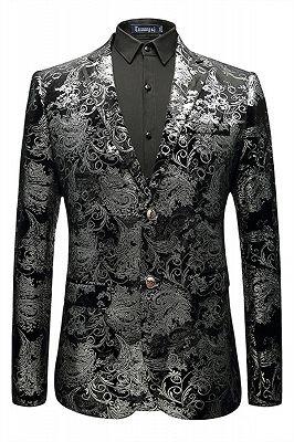 Jackson Black Jacquard Slim Fit Mens Blazer Jacket In Stock_1