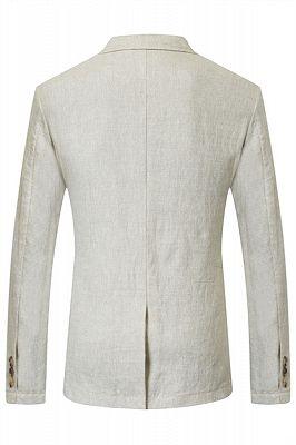 Hayden Off White Summer Linen Cheap Blazer Jacket Online_2