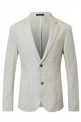 Hayden Off White Summer Linen Cheap Blazer Jacket Online_1