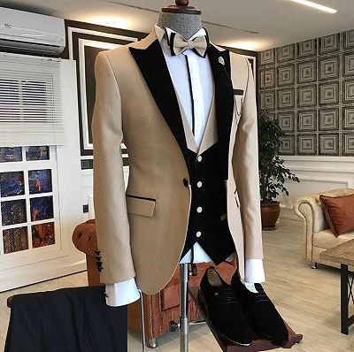 Malachi New Arrival One Button Slim Fit Men Suits_2
