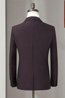 Oscar Purple Slim Fit Formal Business Men Suits Online_2