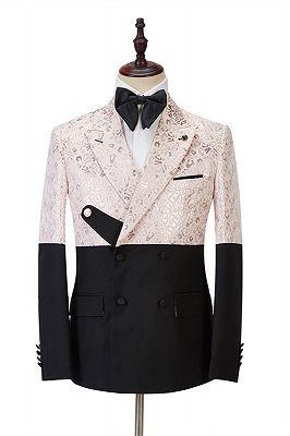Eduardo Stylish Peaked Lapel Slim Fit Bespoke Prom Men Suits Online_1